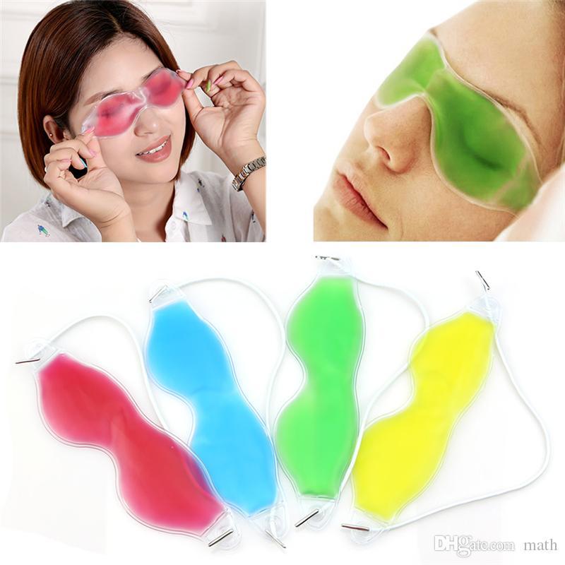 Ice Eye Mask Shading Summer Lunettes de Glace Soulager La Fatigue Des Yeux Supprimer Cernes Gel Des Yeux Gel Sac De Glace Sleeping Masks