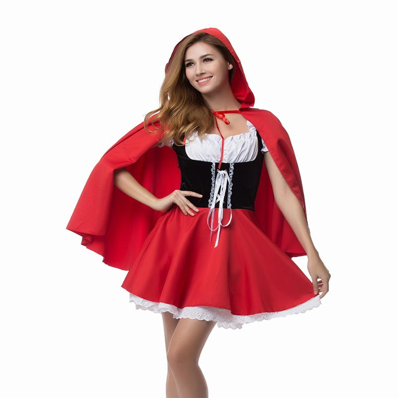 Material Object Photo Plus Size S 6XL Adult Little Red Riding Hood Costume  Toddler Halloween Costumes Scary Halloween Costumes From Peay f51744bf5