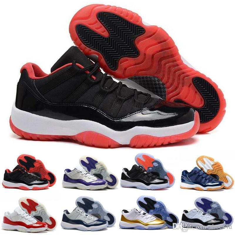 11 Low Olympic Metallic Gold White Varsity Red Cherry Navy Gum Concord Basketball Shoes Sneakers Women Men 11s Lows XI Sports Shoe