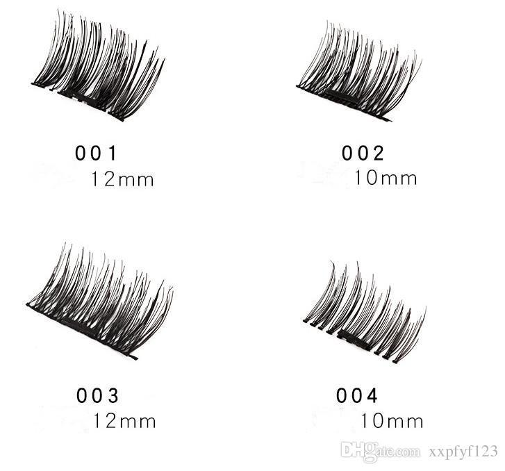 높은 quanlity 자기 눈 내리는 3D Mink 재사용 가능한 거짓 자석 속눈썹 연장 3d 속눈썹 확장 자기 속눈썹 메이크업 a170