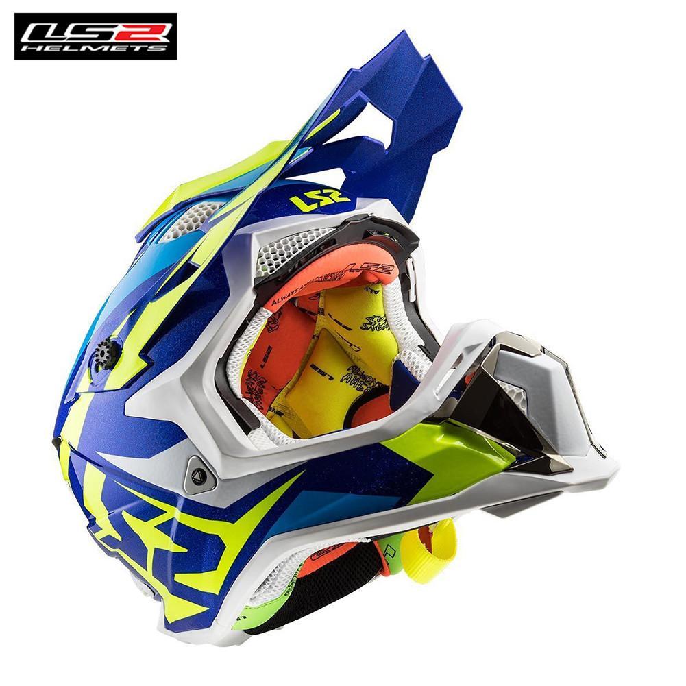 fb9881caed801 Compre LS2 MX470 SUBVERSOR Motocross Casco Para Motocicleta Dirt Bike MTB  Mountain Bike DH MX Off Road Capacetes Cascos A  291.38 Del Bqintian
