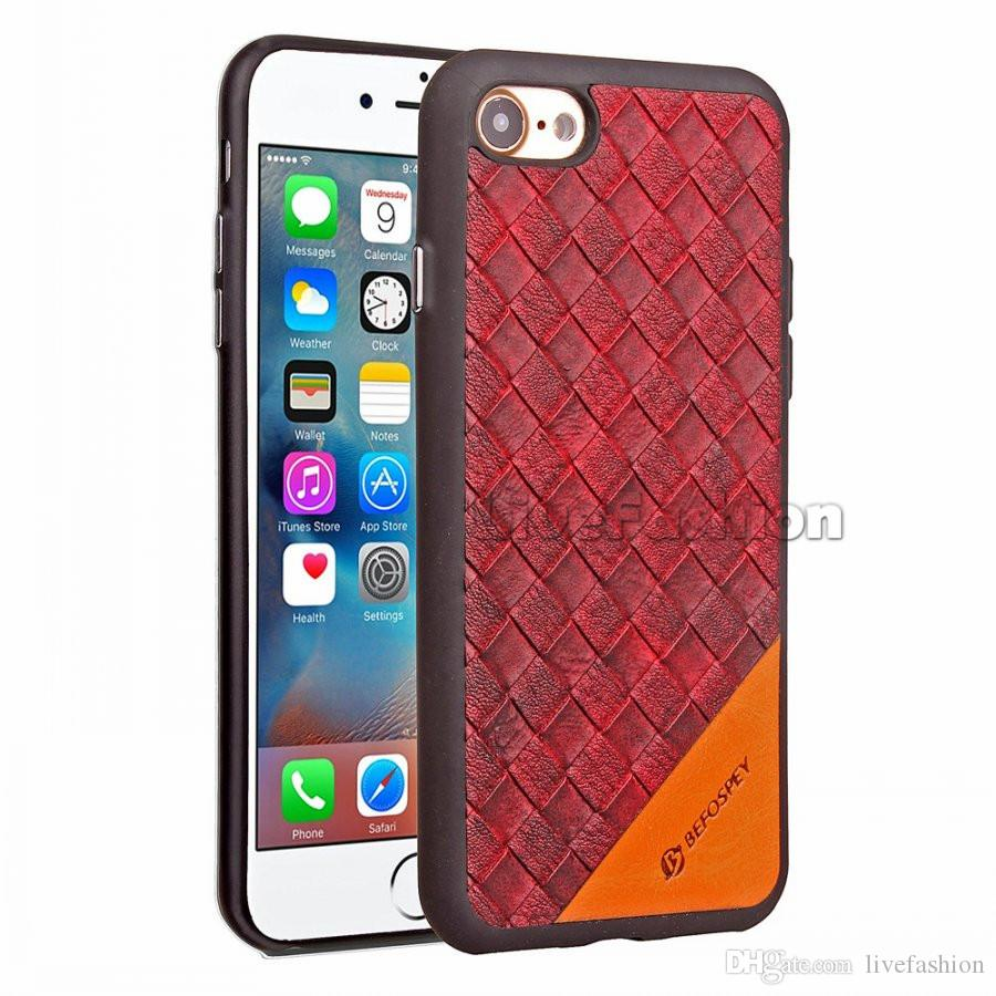 New Fashion For iphone 7 8 plus Plating Button Design Leather Phone Case Soft TPU back Cover For iphone 6 plus Samsung S8 plus S6 S7 edge