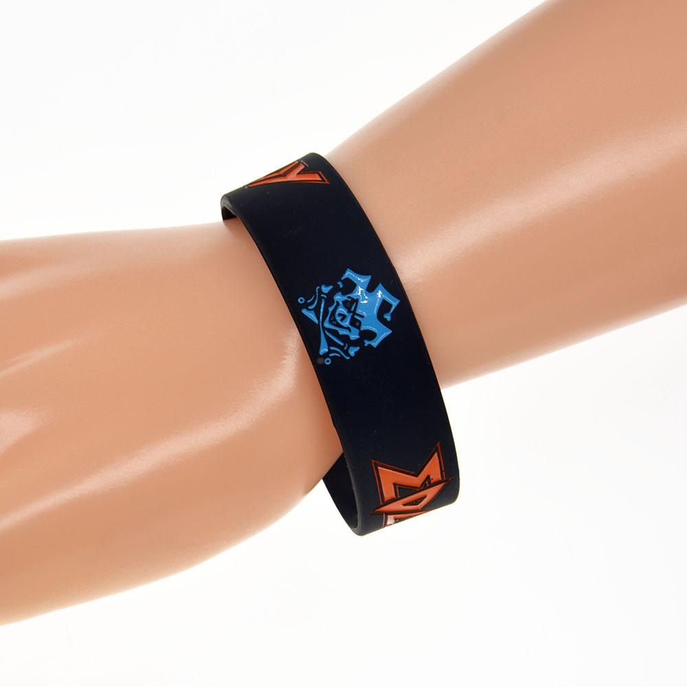 1 Inch Wide Edguy Art Rock Band Silicone Wristband A Great Way To Show Your Support