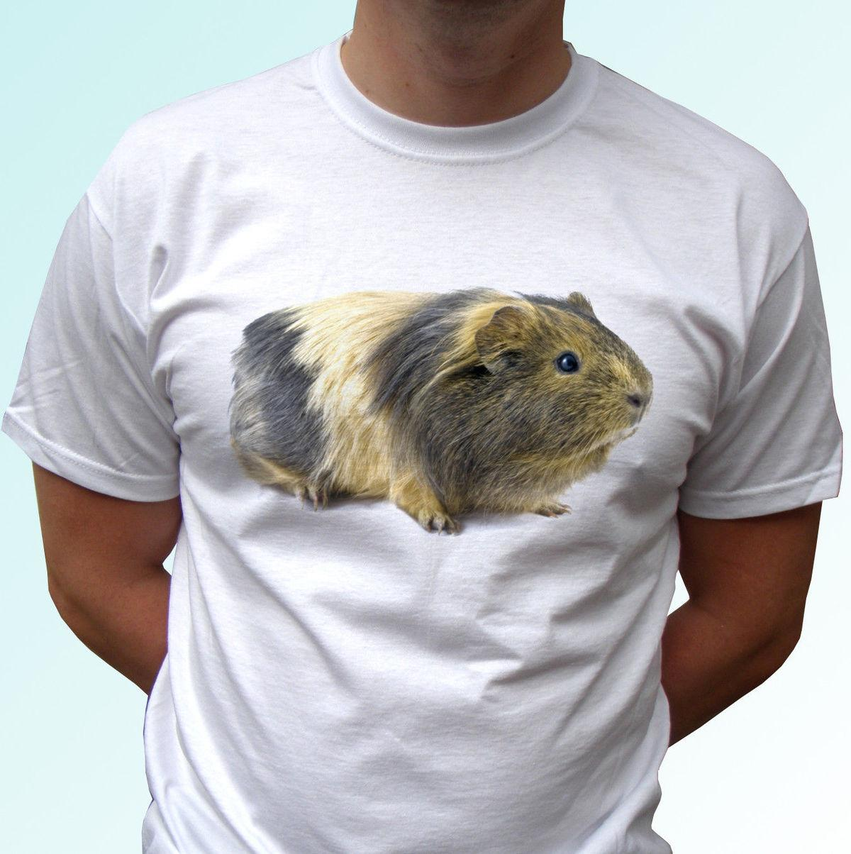 5430d73ca Guinea Pig White T Shirt Animal Tee Top Design Women/Mens Kids Baby Sizes  Great Quality Funny Man Cotton Print T Shirt Slogan T Shirts From  Carenthusiast, ...