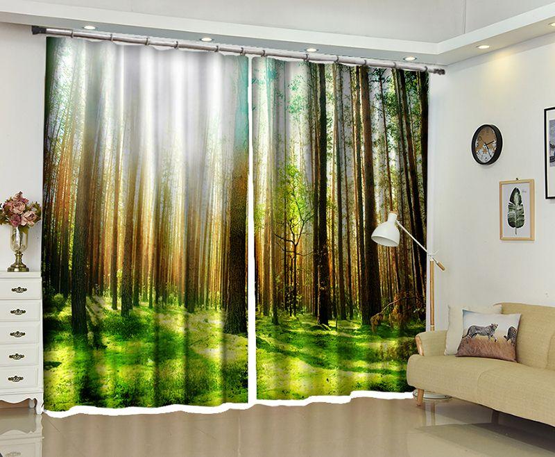 Tende Da Doccia Design : Acquista new natural scenery d tende oscuranti sano non