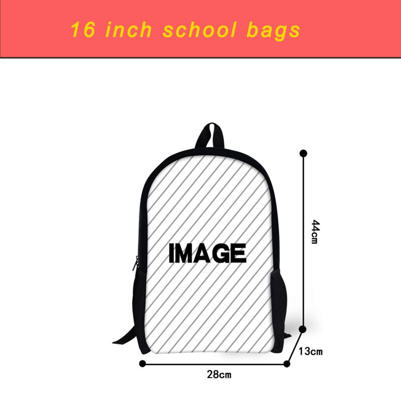 FORUDESIGNS Backpack Game Kids School Bags 3Pcs/Set School Book Bags for Teen Boys Fashion Student Bookbags