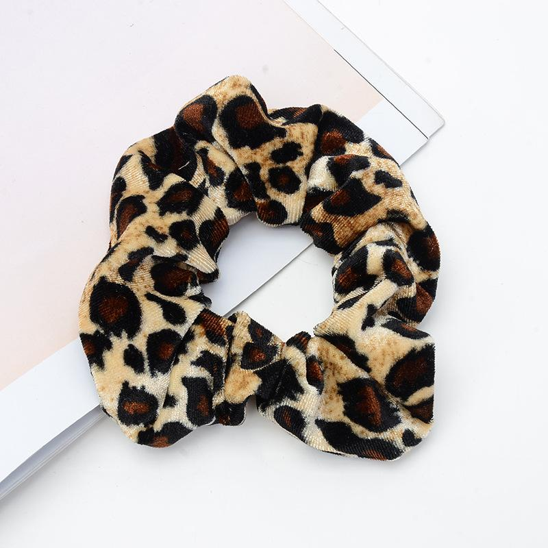 Leopard Women Hair Accesorios Ladies Hair Tie Striped Lady Scrunchies Ponytail Hair Female Girl Holder Rope Hair Accessories Moderate Cost Girls' Clothing