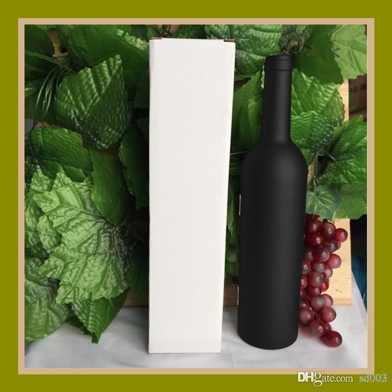 Wine Bottle Forma abridores práticos presentes Multitools Corkscrew Novidade para Dia dos Pais Com Box Acessórios de cozinha 16 8fh ZZ