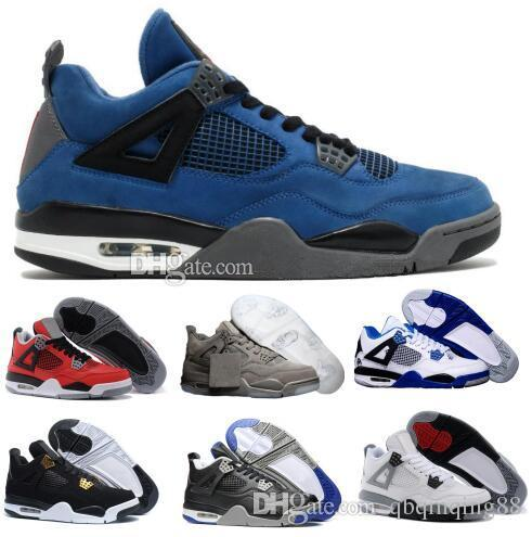e88df9f5376cff Basketball Shoes Mens Womens Black 4s Kaws Cement Eminem Alternate ...