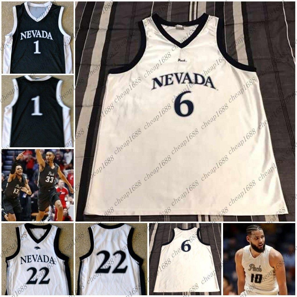 huge selection of 381d8 6b729 Mens Nevada Wolf Pack 14 Lindsey Drew 33 Josh Hall 13 Hallice Cooke 12  Elijah Foster Stitched Any Name Number College Basketball Jerseys