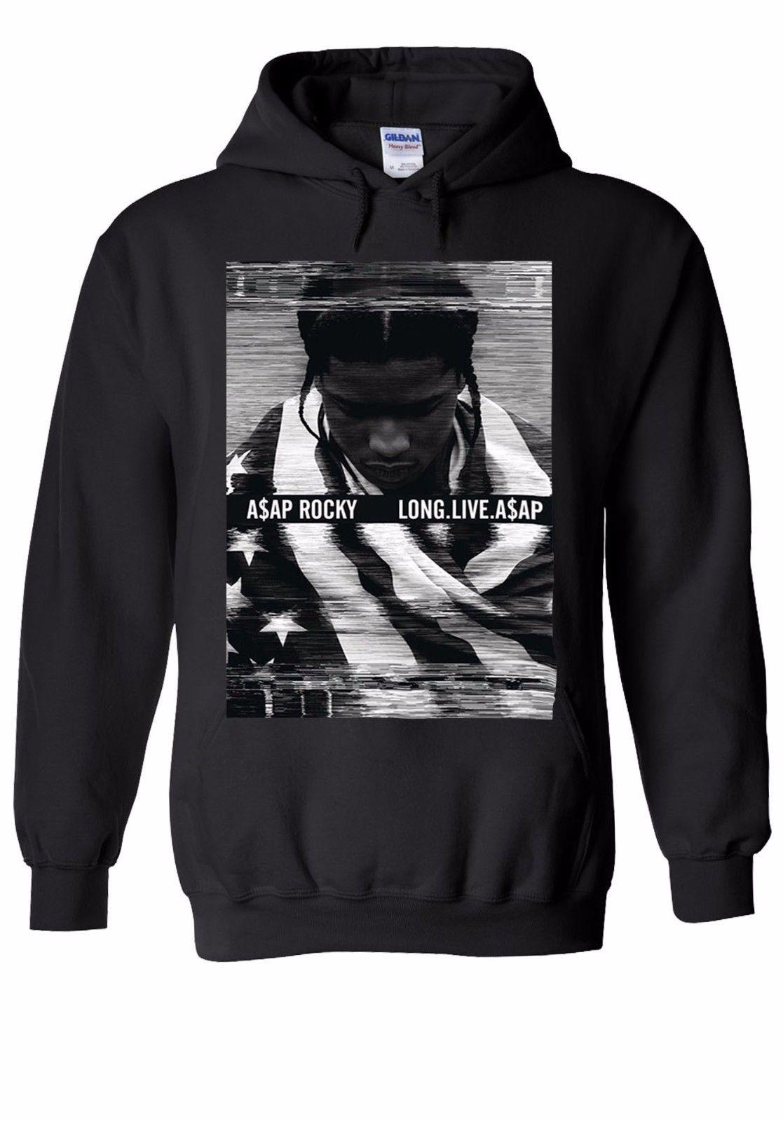ASAP Rocky Long Live Funny Rap Men Women Unisex Top Hoodie Sweatshirt 2