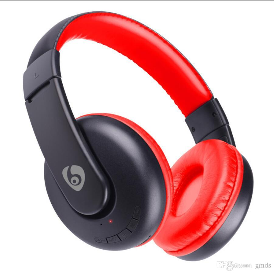 Bluetooth Headphones Wireless Foldable Hi-fi Stereo Headphone for Smart Phones & Tablets with Retail box DHL