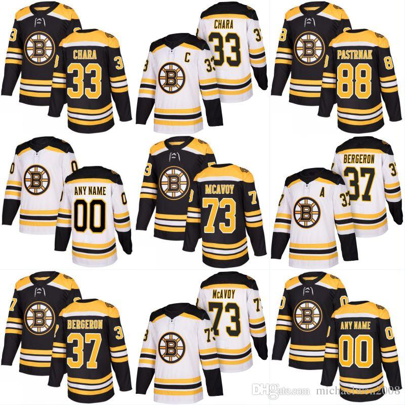 Mens Womens Youth 73 Charlie McAvoy Jersey 2017-18 Boston Bruins ... 795e5b536
