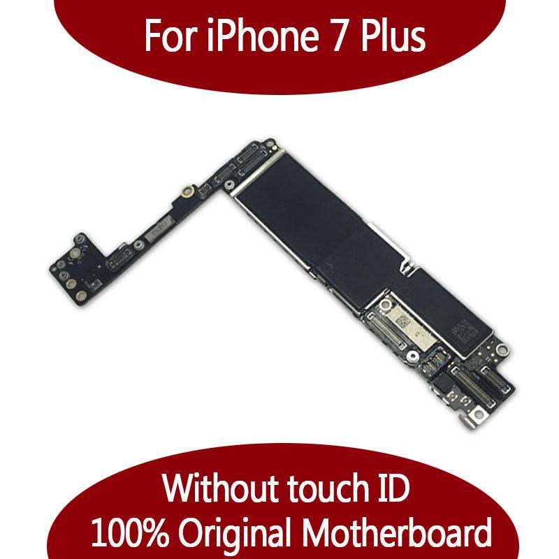 Für iPhone 7 Plus 128G Motherboard ohne Touch ID NoFingerprint, Original Unlocked Logic Board von Kostenloser Versand