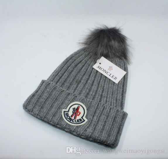 5dbc599532a 2018 Autumn Winter Hats For Women Men Brand Designer Fashion Beanies ...