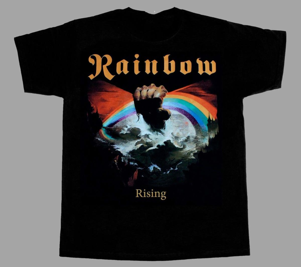866532d4aaef RAINBOW RISING 76 BLACKMORE NEW BLACK SHORT LONG SLEEVE T SHIRT 3D T Shirt  Men Plus Size Cotton Tops Tee Homme High Quality Shirt Tee Shirt Shirts  From ...