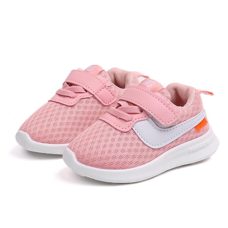 d502c7d40 Compre 2018 Nuevo 1 A 5 Años De Edad Zapatos Deportivos Para Bebés Y Niños  Pequeños Zapatos Casuales Para Bebés Niños De Calidad Superior Corriendo ...