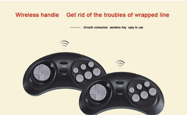 SEGA Genesis HDMI Video Game Console Handheld Game Players HDMI TV Out with wireless controllers
