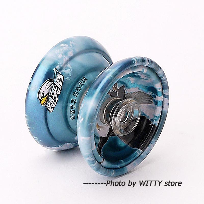 High Speed Bearings Metal Alloy YoYo Toy Special Props Butterfly Cool Yoyo With String Classic Toy For Children Kids Gift