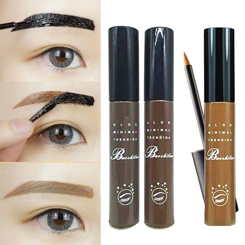 Eyebrow Makeup Eye Tint Brows Gel Make Up Grey Coffee Brown Henna