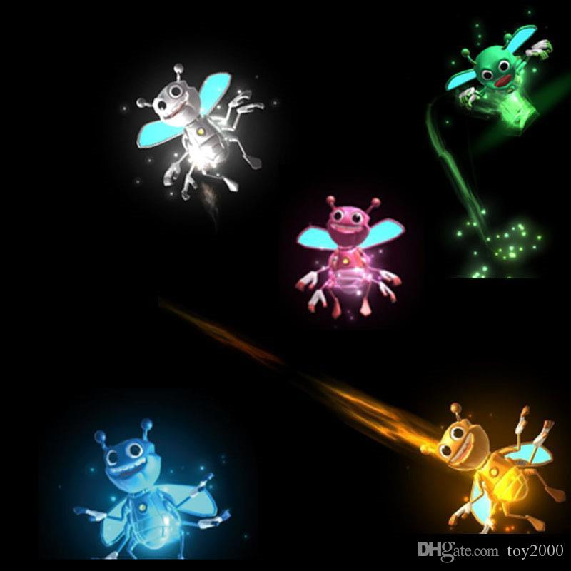 Bright Bugz Magically Flies From Hnad To Hand Magic Lights 3D Bees Download APP Toy Lamp Kit Illusion Trick Funny Kids Xmas gifts1