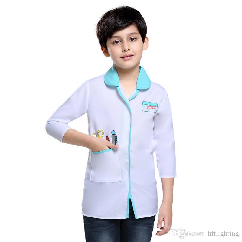 Children Vet Doctor Suit Costumes Cosplay For Boys Girls Halloween Party Game Costume Cosplayostume Cosplay