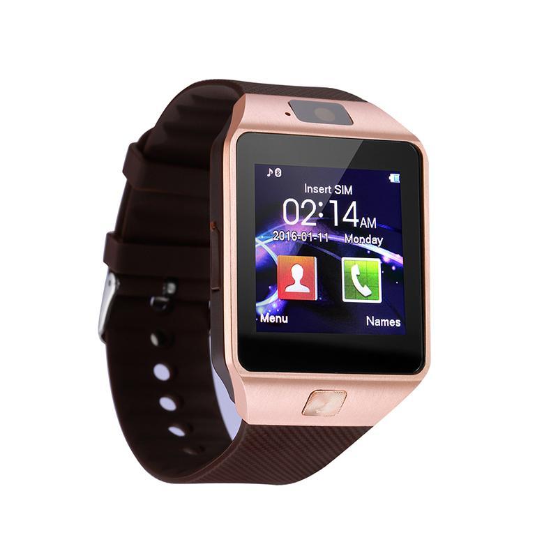 116a8c958c Bluetooth DZ09 Smart Watch with 4GB 8GB 16GB Camera Sport Pedometer SIM TF  Card Smart watch for Xiaomi HUAWEI PK A1 Q18
