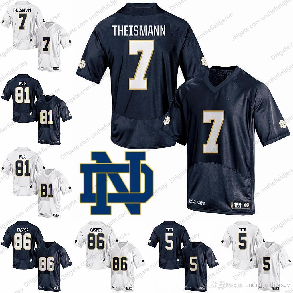 e5e26ee73 Notre Dame Fighting Irish  7 Joe Theismann 81 Alan Page 86 Dave ...