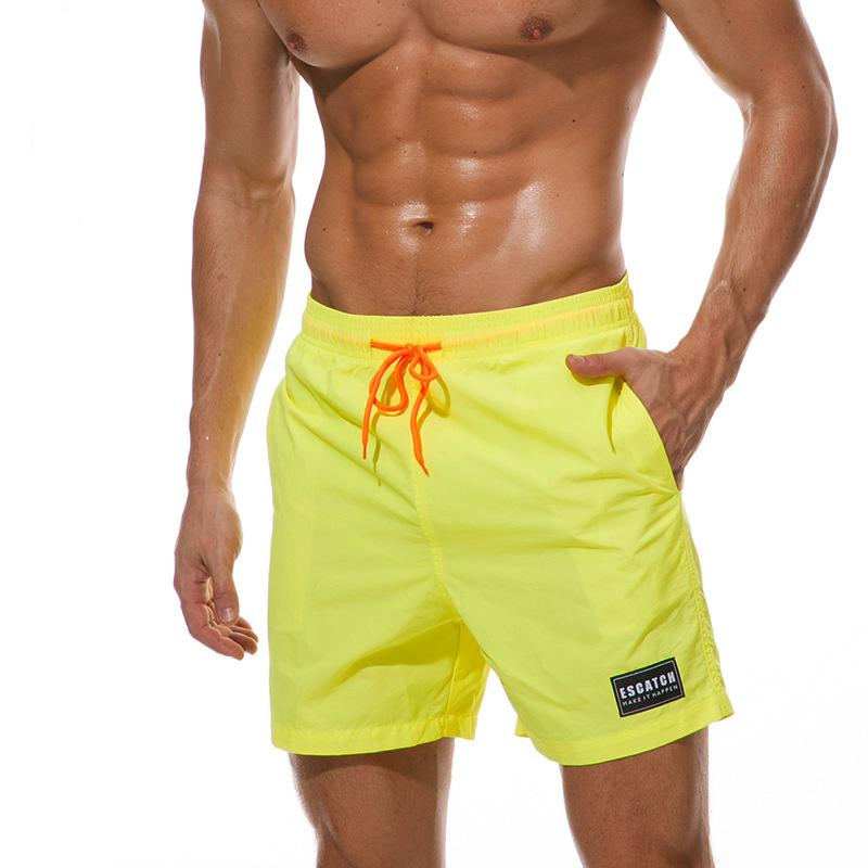 506d2ae084 2019 Summer Mens Swimwear New Fashion Brand Style Mens Beach Shorts Quick  Drying Pants Sex Male Short Pants Board Casual Pants From We_do, $30.21 |  DHgate.