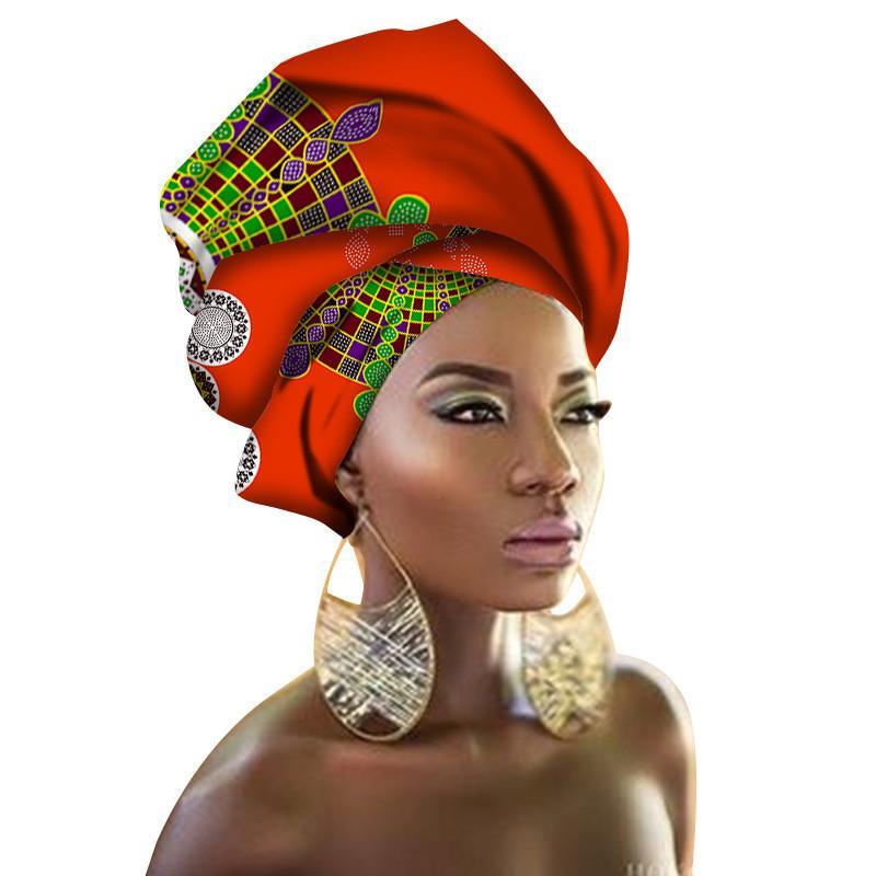 4a96796106fc Acheter Écharpe Africaine Style Africain Dashiki Écharpes Africaines Pour  Femmes Tissu De Cire Écharpe Africaine Tête Afrique Lourde Grande Broderie  De ...