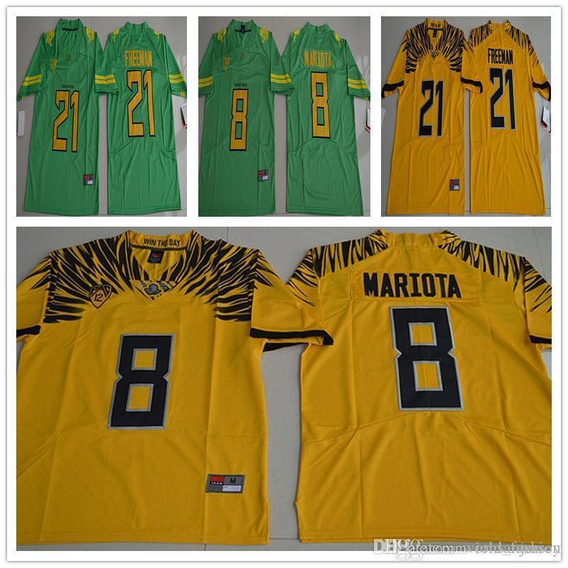 Oregon Duck Royce Marcus Mariota 8 Freeman 21 Men College Football ... ed79fb327