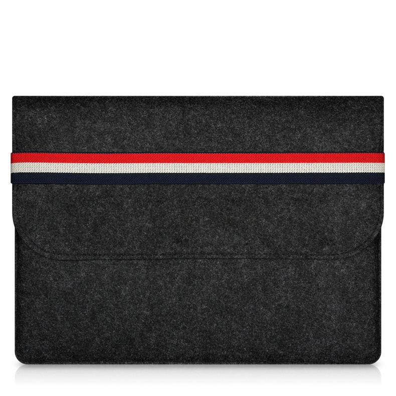 2017 New hot Fashion Cover 11 12 13 Inch Protective Laptop Bag Sleeve Case for Apple Macbook Air Pro Retina 15 Notebook Bag+pen