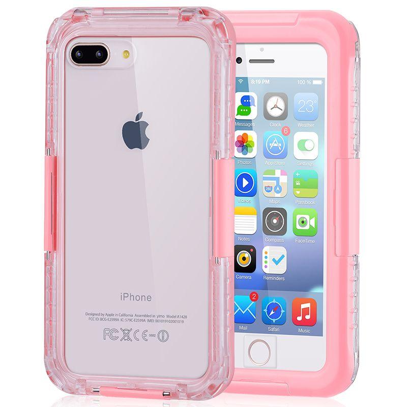 Para iPhone XS MAX estuche protector para el agua bajo el agua Estuche impermeable estirable resistente al agua a prueba de golpes con protector de pantalla