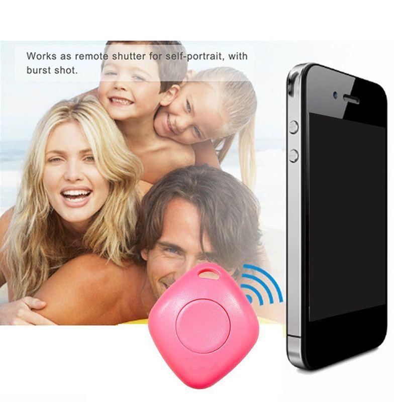Mini Bluetooth 4.0 Izci Alarm iTag Anahtar Bulucu Ses Kayıt Anti-kayıp Izci Özçekim Deklanşör YOK gps Izci ios Android Için 50 adet