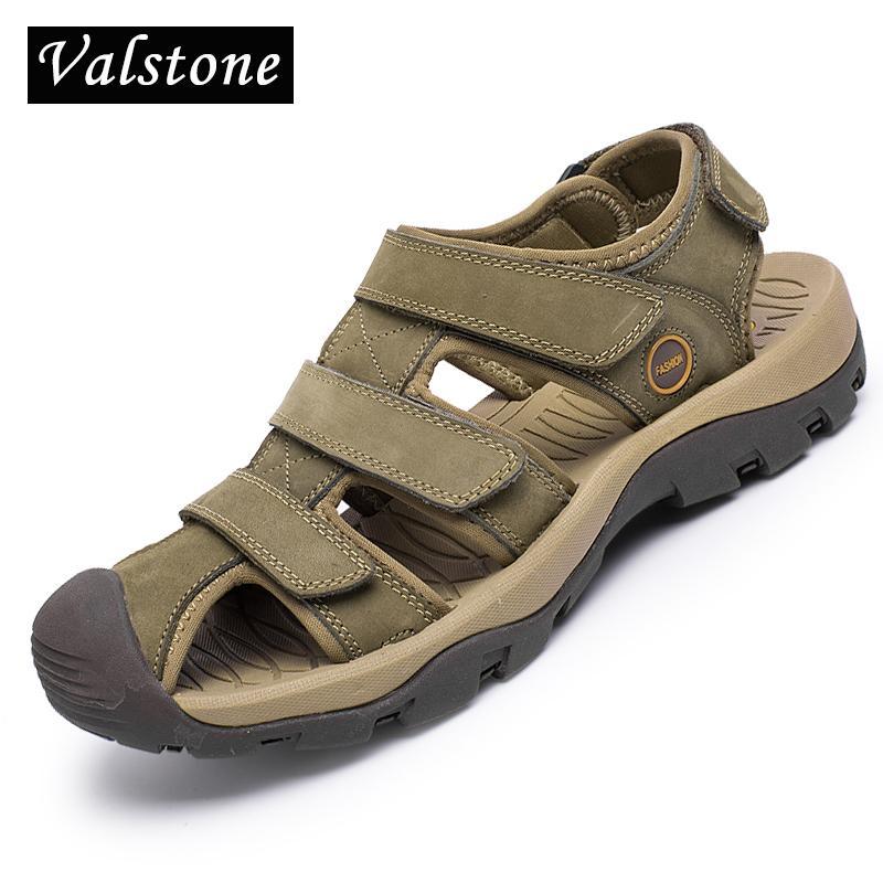 Acquista Da 2018 Valstone Uomo Xdcbewreqo Sandali Estivi Scarpe Spiaggia 3lTFK1Jc
