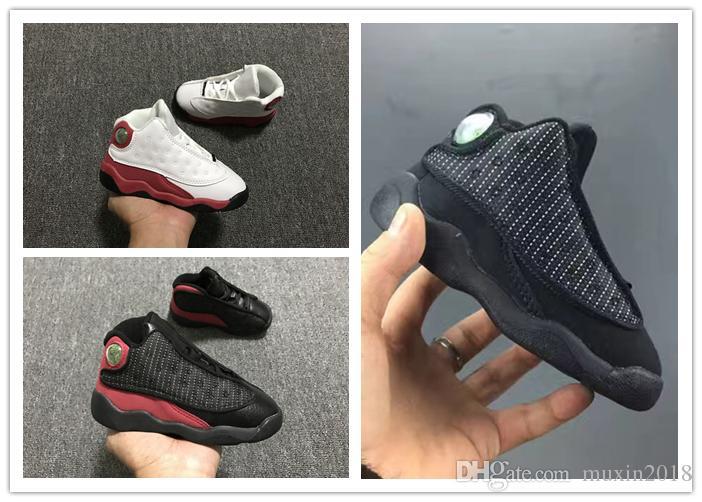 nike air jordan aj13 2018 neue 5 Farbe 13 Baby Kinder Basketball Schuhe zum Verkauf 13S Infant Sport Sneaker Jungen und Mädchen Kinder Sport Schuhe