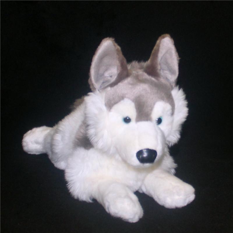 2018 Cute Simulation Animal Husky Doll Plush Dog Toy Realistic