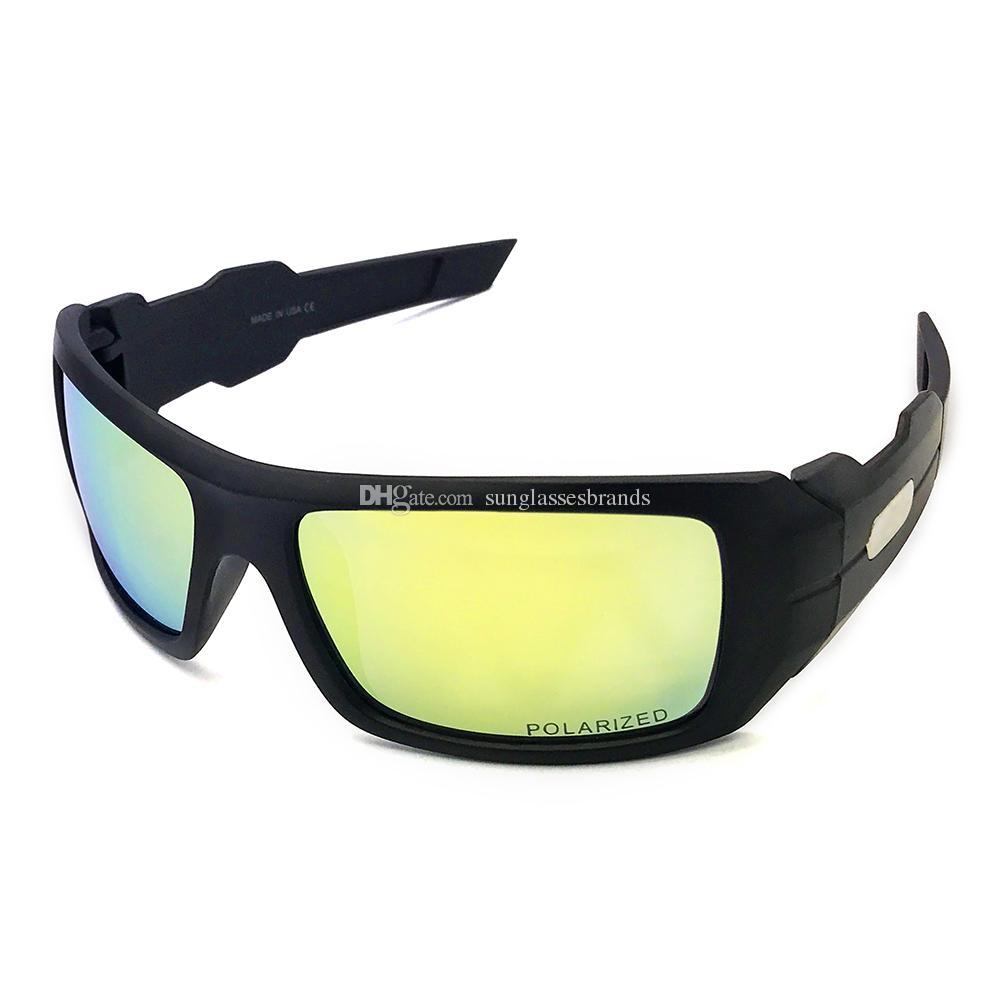 aa9da93273 Top Quality Ooil Odrim Design Glasses OO3014 Polished Black Chrome   Gold  Mercury Iridium Mirror Lens Driving Sunglasses OK38 Foster Grant Sunglasses  ...