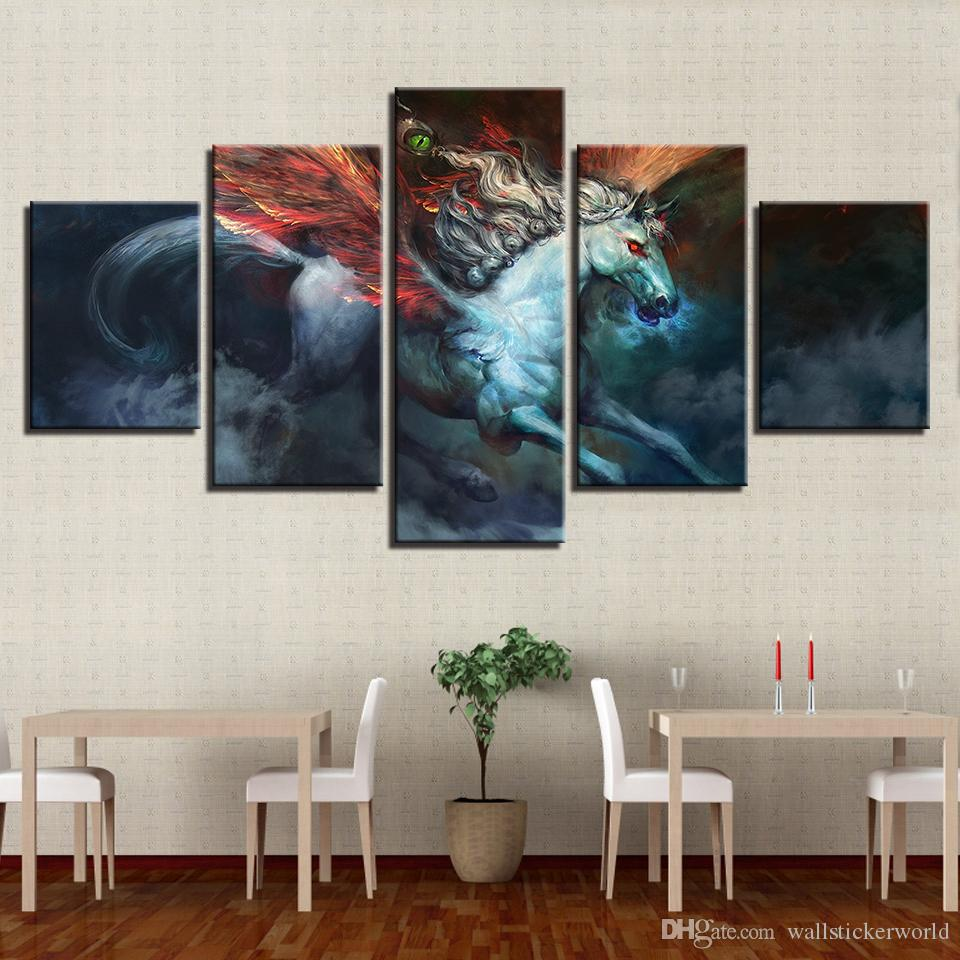 Home Decor Posters Frame Wall Art Pictures Living Room Abstract ...