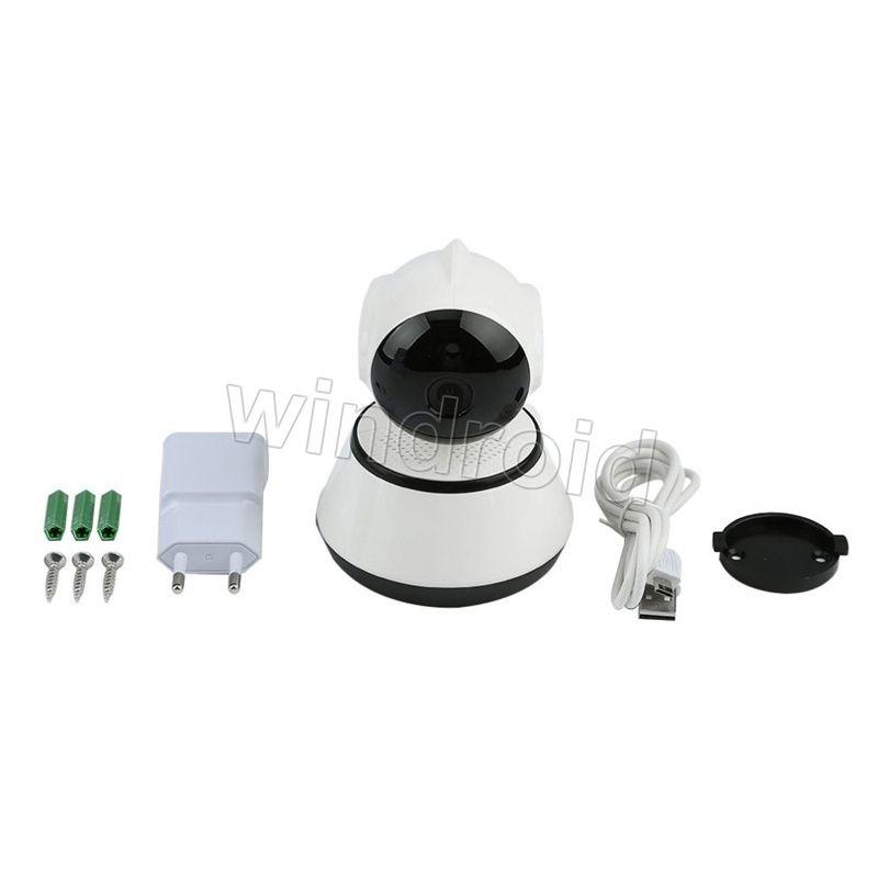 V380 720P Cámara IP Wi-Fi Cámara de Vigilancia Inalámbrica P2P CCTV Wifi Cámara IR Cut Visión Nocturna APP Gratuita Home Security Cam Baby Monitor Q6