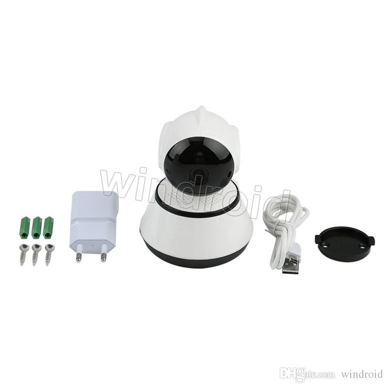 V380 HD 720P IP Camera WiFi Wireless Smart Security Camera Micro SD Network Rotatable Defender Home Telecam HD CCTV IOS PC With retail box
