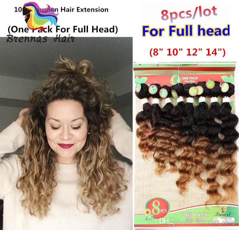 Brazilian Human Hair Tangle Free Ombre Color Jerry Kinky Natural