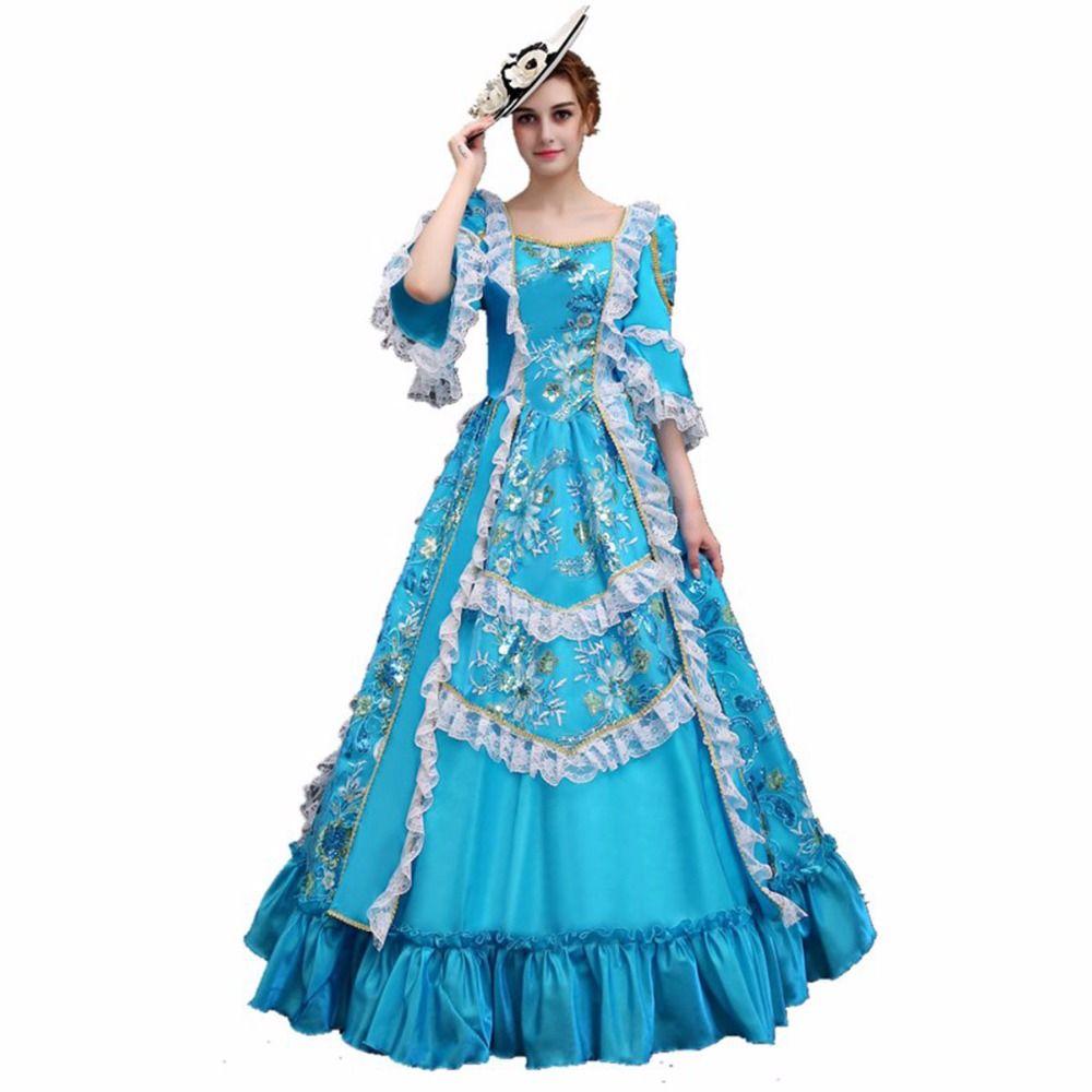 Acheter Robe De Robes Femme Baroque Mascarade Costume Pour rr4SqZH