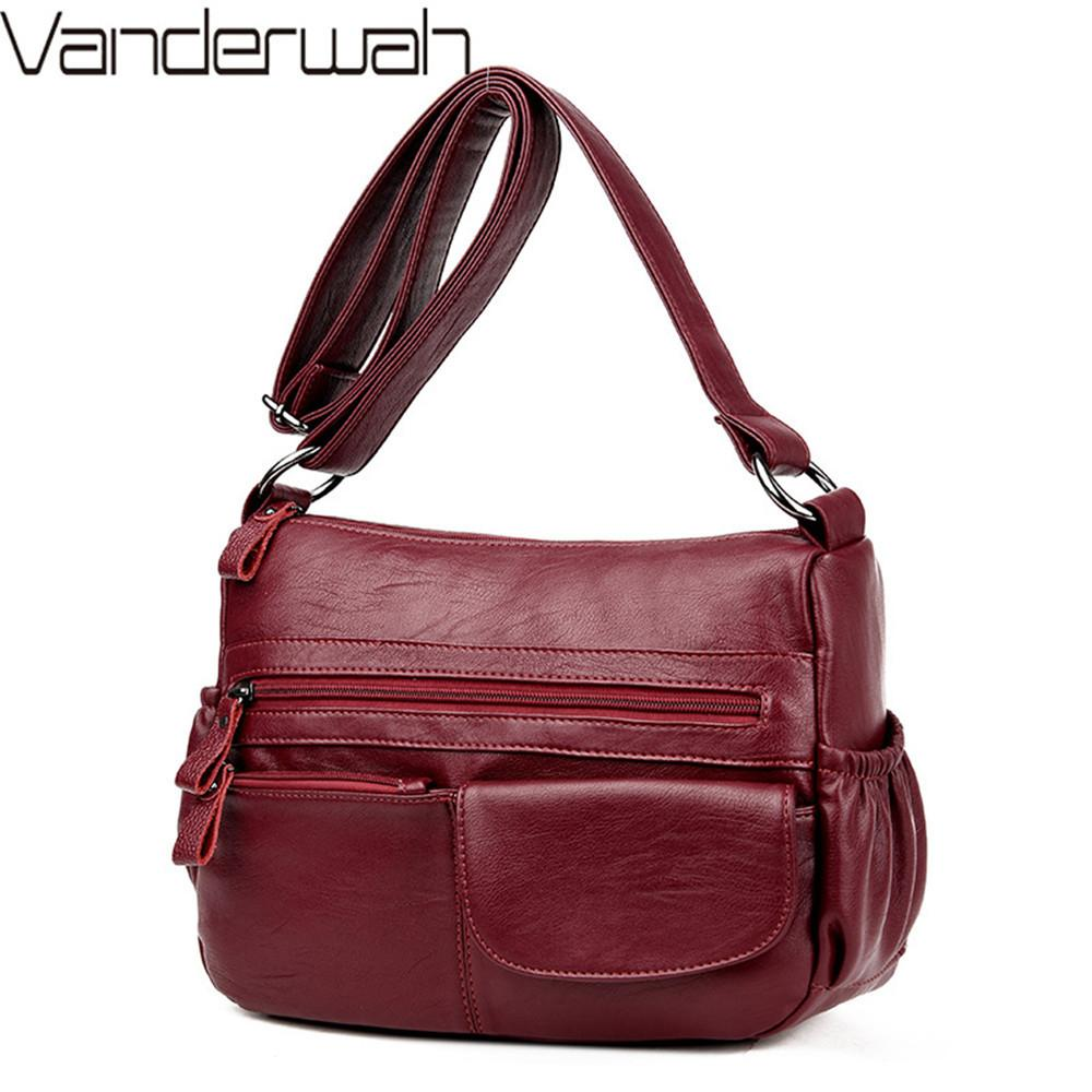 37fd0ec2db4a Sac A Main Bolsa Feminina 2018 Crossbody Bags For Women Messenger Bag  Designer Handbags High Quality Female Leather Shoulder Bag D18102303 Beach  Bags Duffle ...