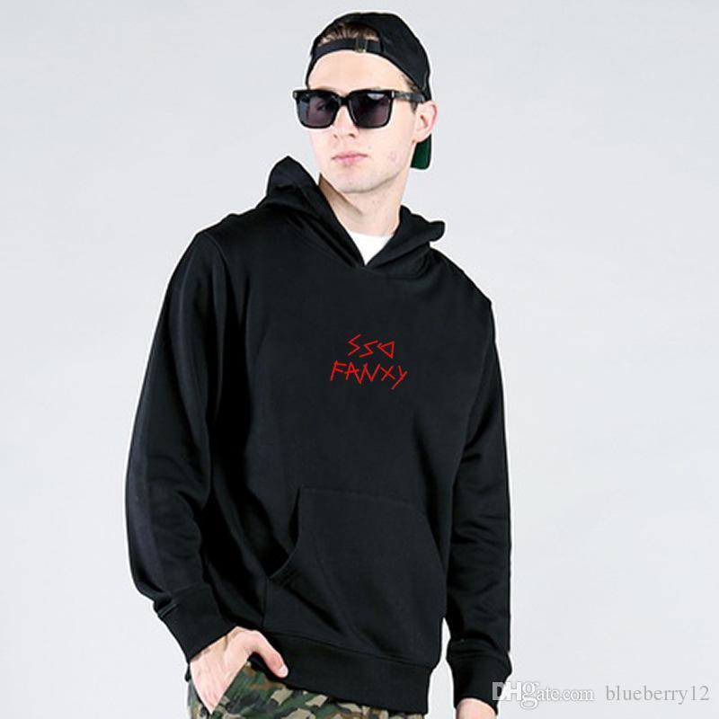 d88f0e4f674b Mens Fleece Sweatshirts Branded Hip Hop Hoodies Street Style Emoji ...