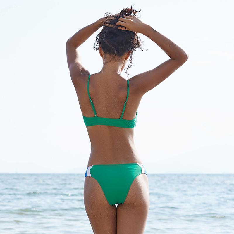 Ariel Sarah 2018 Maillot De Bain Femmes Patchwork Bikini Sexy Maillot De Bain Maillots De Bain Bikini Brésilien Maillot De Bain Beachwear