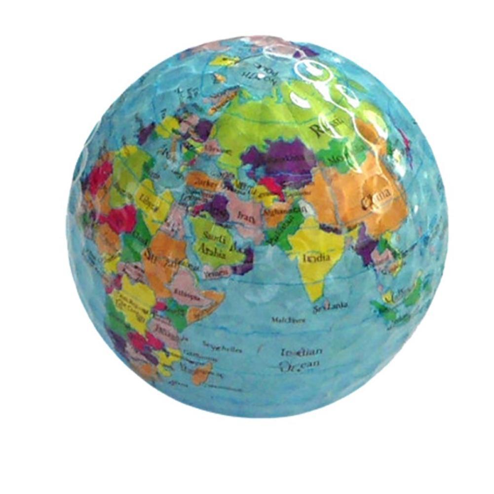 compre globo mapa imprimir bola de golfe de borracha ao ar livre