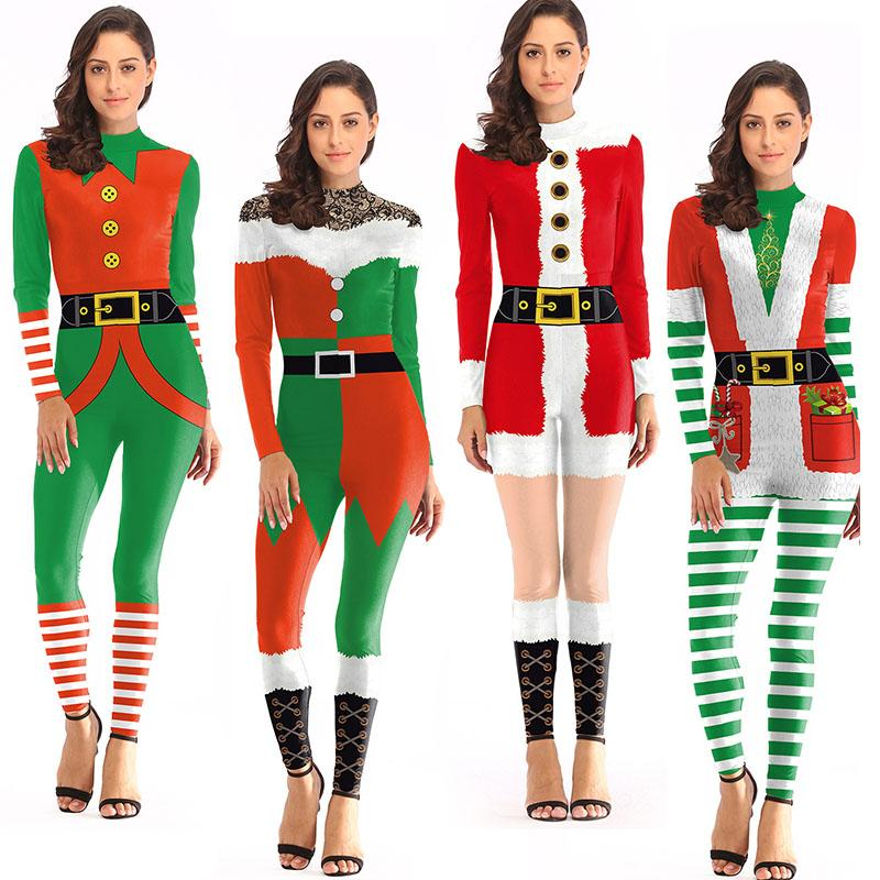 Großhandel Weihnachtskostüm Yuletide Kleid Roben Uniform Außenhandel ...