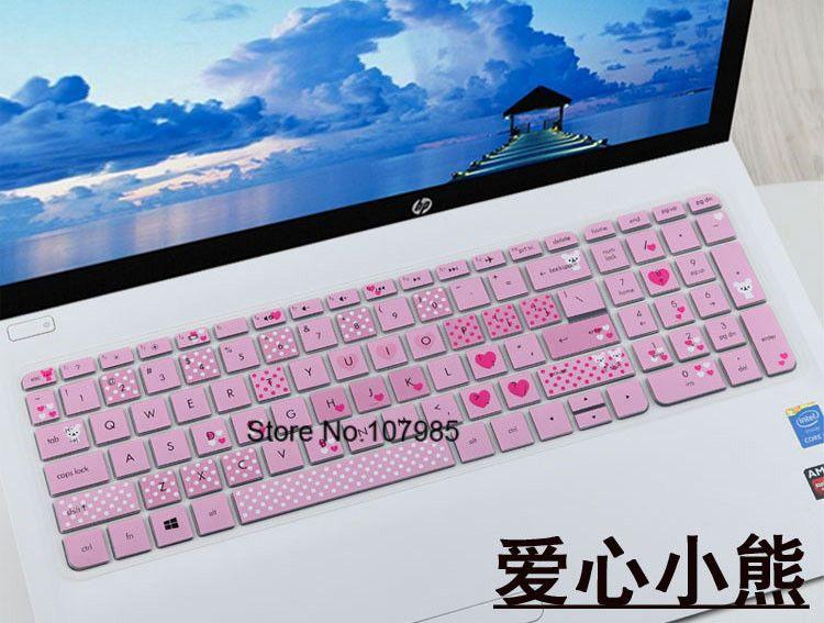 2017 15 15 6 inch Laptop Keyboard Cover Dustproof For Pavilion 15-bp152nr  15-bp108ca 15-bp002ne 15-ck075nr 15-bq051sa bq101na