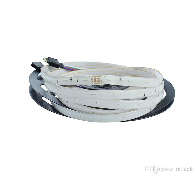High Birght 5M 5050 3528 5630 Tiras de LED Luz Cálido Puro Blanco Rojo Verde RGB Flexible 5M Rollo 300 Leds 12V cinta exterior